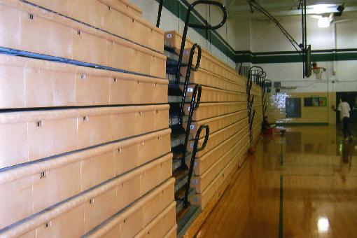 Buckeye Bleacher Repair Gymnasium Bleacher Repair And